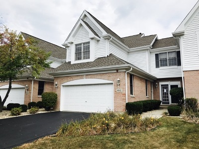 Naperville Condo/Townhouse For Sale: 4113 Stableford Lane #4113
