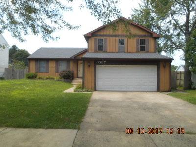Bolingbrook Single Family Home New: 1097 Churchill Drive