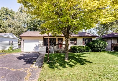 McHenry Single Family Home Contingent: 4812 Willow Lane
