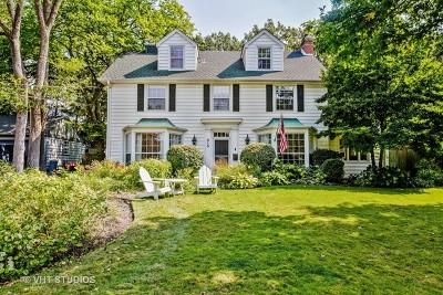 Winnetka Single Family Home For Sale: 915 Euclid Avenue