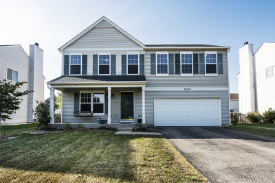 Plainfield Single Family Home Contingent: 6308 Meadow Ridge Drive