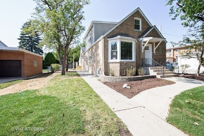 Du Page County Single Family Home New: 550 South Edgewood Avenue