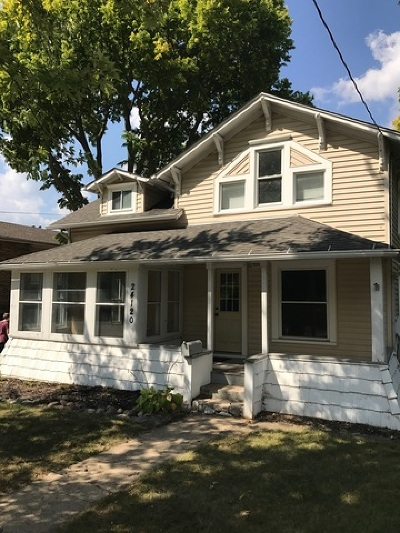 Plainfield Single Family Home For Sale: 24120 West Main Street