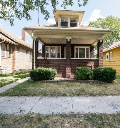 Chicago IL Single Family Home New: $187,500