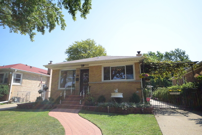 Skokie Single Family Home New: 8619 Frontage Road