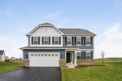 Plainfield Single Family Home Price Change: 25629 West Cerena Circle