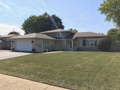 Addison Single Family Home For Sale: 820 West Heritage Drive