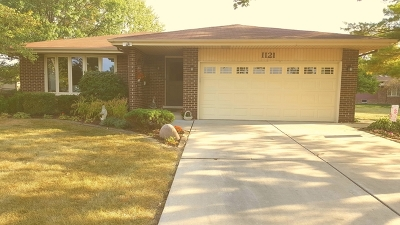 Downers Grove Single Family Home For Sale: 1121 68th Street