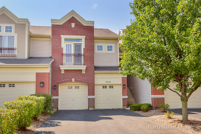Naperville Condo/Townhouse For Sale: 3316 Rosecroft Lane