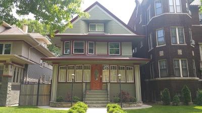 Oak Park Single Family Home For Sale: 45 Washington Boulevard