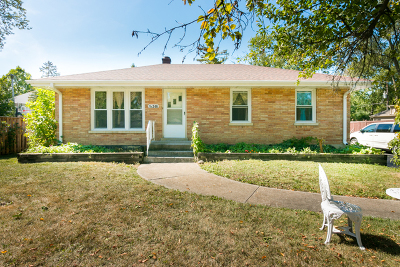 Lombard Single Family Home New: 1s246 Wisconsin Avenue