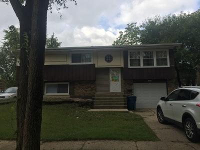 Sauk Village Single Family Home For Sale: 21906 Olivia Avenue