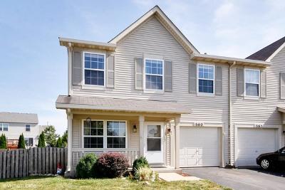 Romeoville Condo/Townhouse New: 363 Reston Circle