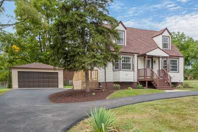 Oakbrook Terrace Single Family Home Contingent: 1s530 Marshall Road