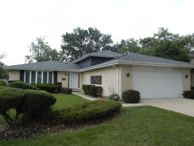Tinley Park Single Family Home New: 17243 71st Avenue