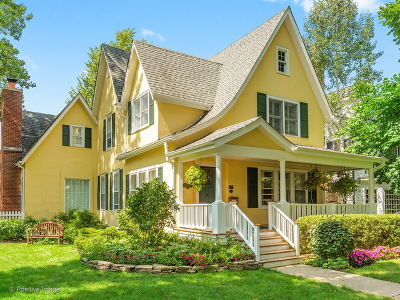 Hinsdale Single Family Home For Sale: 314 North Lincoln Street
