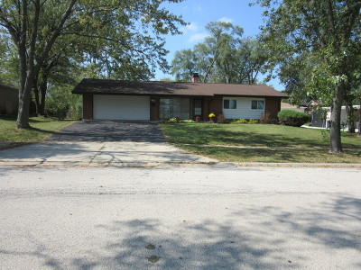 Hoffman Estates Single Family Home New: 120 Pleasant Street