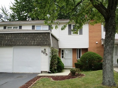 Bolingbrook Condo/Townhouse For Sale: 505 Dubois Circle