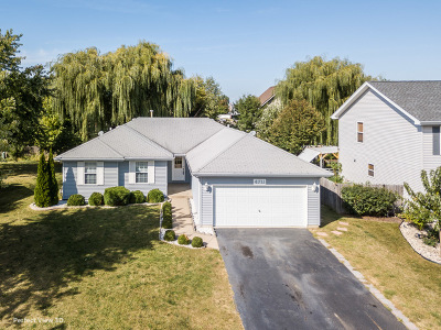 Plainfield Single Family Home Contingent: 4711 Blue Jay Lane