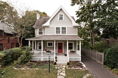 Winnetka Single Family Home For Sale: 808 Prospect Avenue