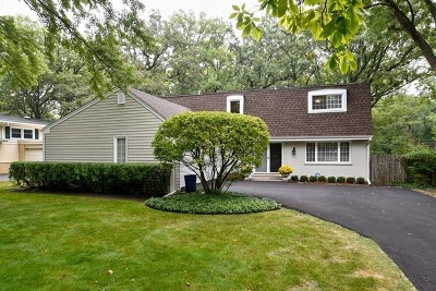 Lake Forest Single Family Home Contingent: 1067 Valley Road