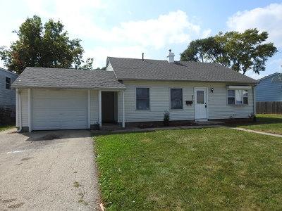Romeoville Single Family Home New: 628 Fenton Avenue