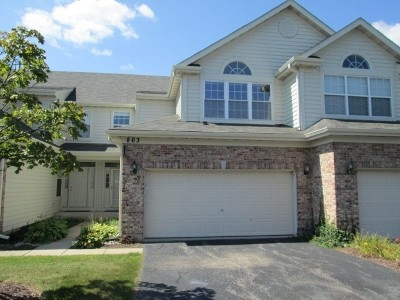 Naperville Condo/Townhouse New: 863 Havenshire Road