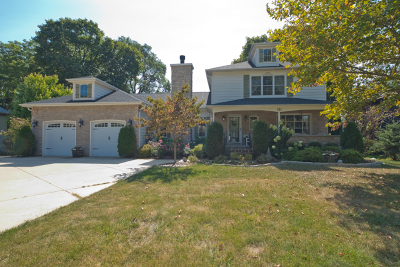 Winfield Single Family Home Contingent: 27w181 Sunnyside Avenue