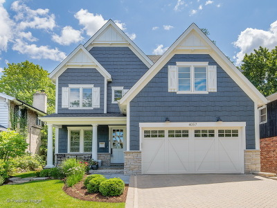 Western Springs IL Single Family Home New: $1,049,000