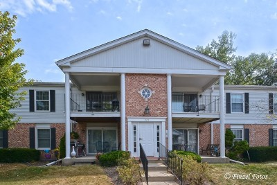 Crystal Lake Condo/Townhouse Contingent: 973 Golf Course Road #4