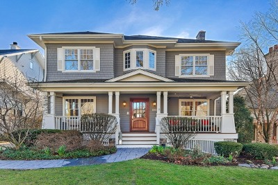 Hinsdale Single Family Home New: 443 South Vine Street