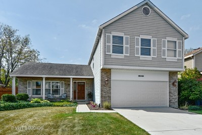 Naperville Single Family Home Contingent: 25w127 Windham Hill Court