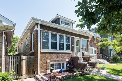 Chicago Single Family Home For Sale: 5240 West Foster Avenue
