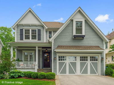 Hinsdale Single Family Home Price Change: 635 South Stough Street