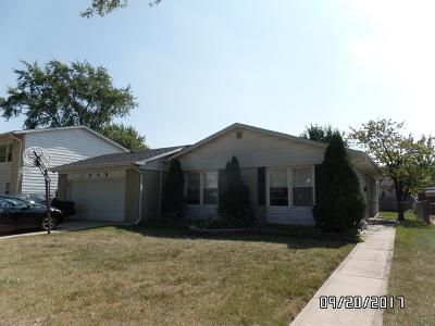 Mount Prospect Single Family Home For Sale: 1709 West Magnolia Lane