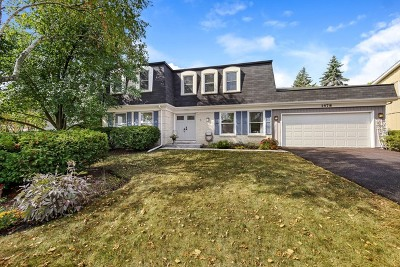 Wheaton Single Family Home For Sale: 1478 McCormick Place