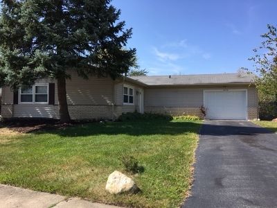 Hoffman Estates Single Family Home New: 4670 Brigantine Court