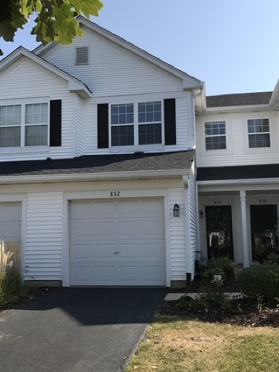 Naperville Condo/Townhouse New: 832 Genesee Drive #832