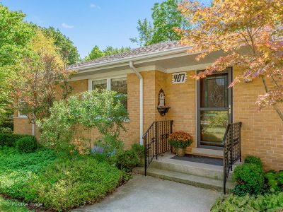Clarendon Hills Single Family Home New: 407 Traube Avenue