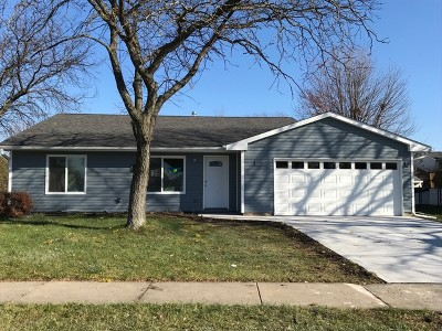Carol Stream Single Family Home For Sale: 1405 Appomattox Trail