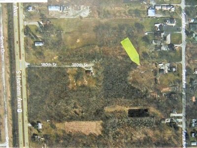 Tinley Park Residential Lots & Land For Sale: Lot 25 180th Street