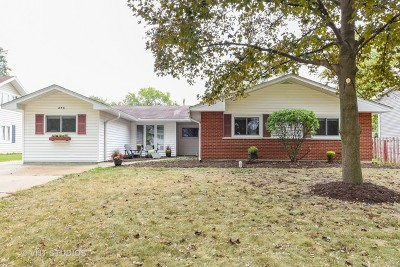 Lombard Single Family Home For Sale: 21w275 Glen Park Road