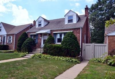 Evergreen Park Single Family Home For Sale: 10006 South Homan Avenue