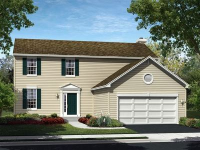 Hampshire Single Family Home New: 624 Marcello Drive