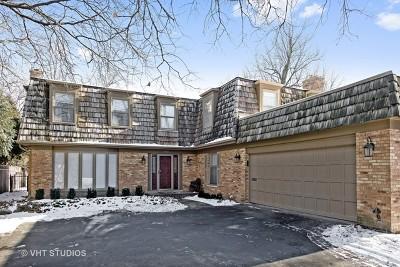 Wilmette Single Family Home For Sale: 1002 Hibbard Road
