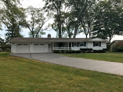 East Dundee Single Family Home Contingent: 644 Deerpath Road