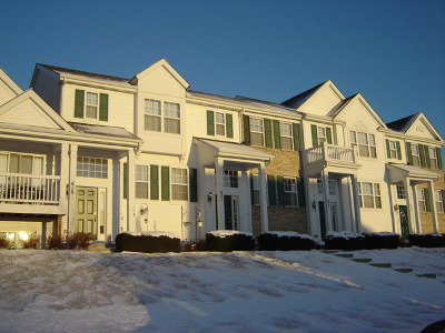 Oswego Condo/Townhouse Contingent: 621 Lincoln Station Drive #621