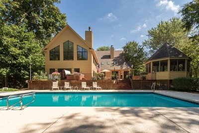 Barrington Hills Single Family Home For Sale: 10125 North River Road