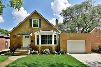 Homewood Single Family Home Contingent: 18535 Gottschalk Avenue