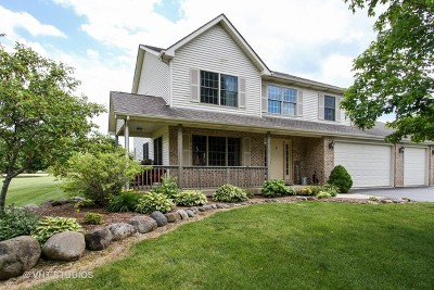 Spring Grove Single Family Home For Sale: 2303 Fox Bluff Lane